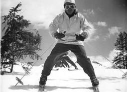Embedded thumbnail for Learning to ski in the 10th Mountain Division