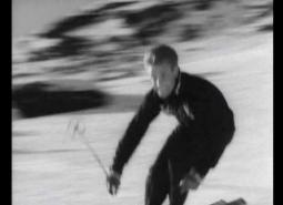 Embedded thumbnail for Marius Eriksen Jr, skiing in the movie Troll i ord (1954)
