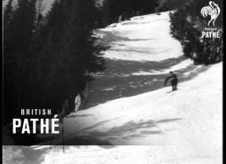 Embedded thumbnail for Christian Pravda wins downhill championship, 1954